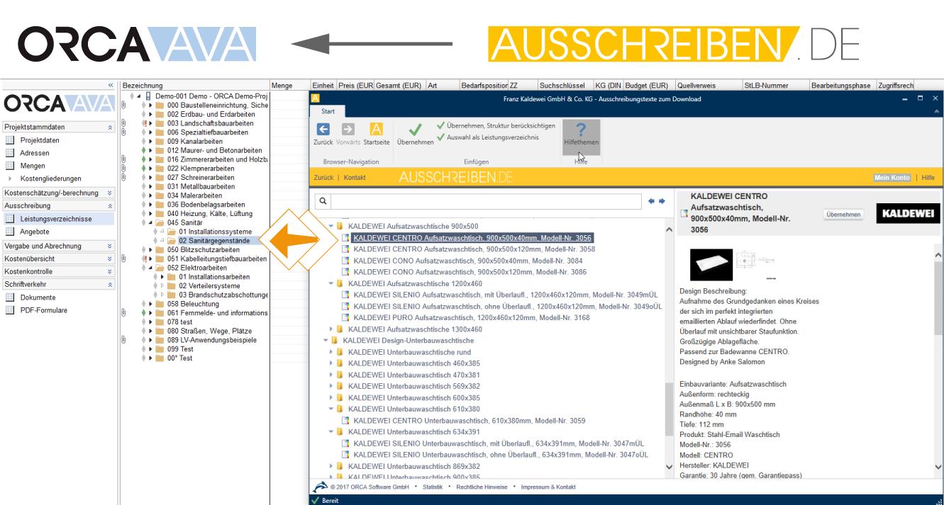 Orca Ava Bausoftware Fur Architekten