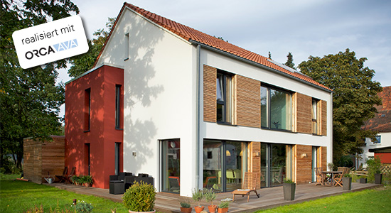 Passivhaus in Hannover - realisiert mit ORCA AVA