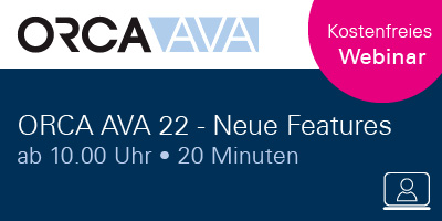 Webinar - ORCA AVA Software Version 22 - Neue Features