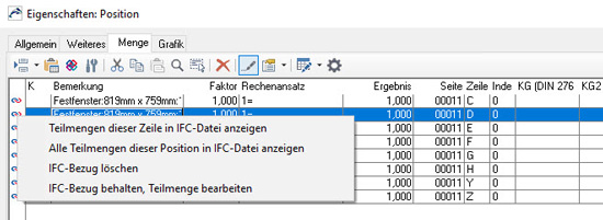 ORCA AVA Software Version 22 - Kennzeichnungen am linken Rand