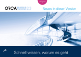 ORCA AVA 23 - Neues in der Version