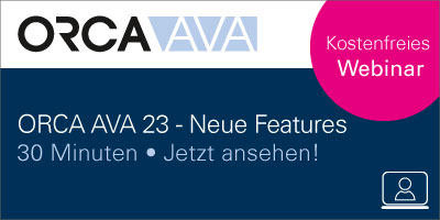 Webinar - ORCA AVA 23 Neue Features